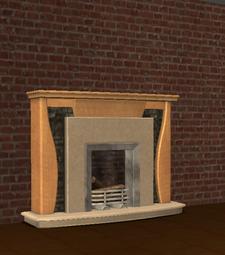 Ts2 gentrific way of the wood mantel fireplace.png