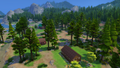 Granite Falls campground from the woods.png